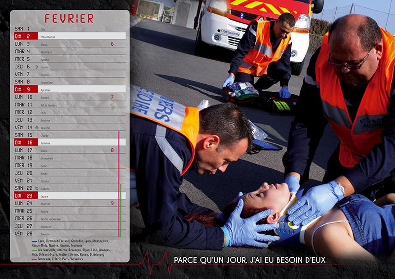 Des Motivations Et Des Engagements Différents - Calendrier Pompier - Editions Bernard Cheneval Services