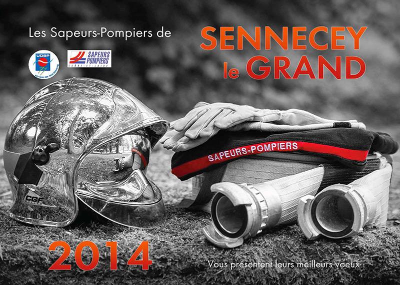 Mélange Couleur Et Noir & Blanc - Calendrier Pompier - Editions Bernard Cheneval Services