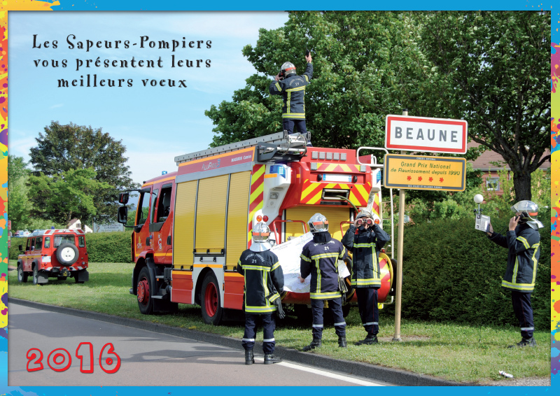 Un Peu De Dérision Et D'humour - Calendrier Pompier - Editions Bernard Cheneval Services